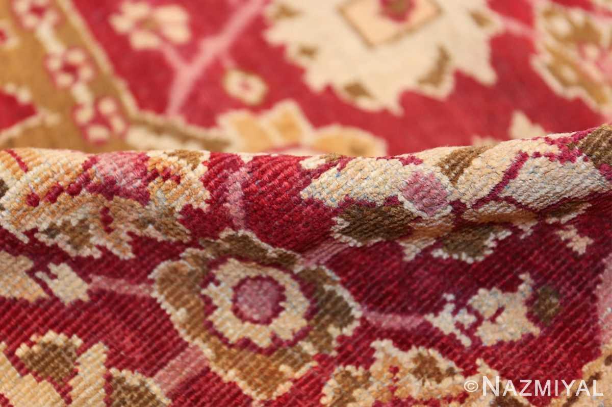 antique room size indian amritsar rug 1891 pile Nazmiyal