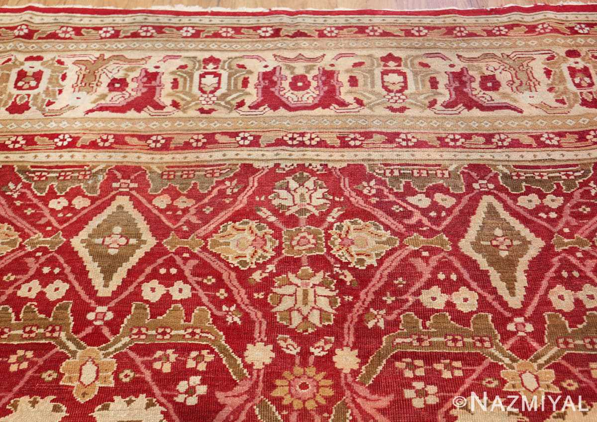 antique room size indian amritsar rug 1891 top Nazmiyal
