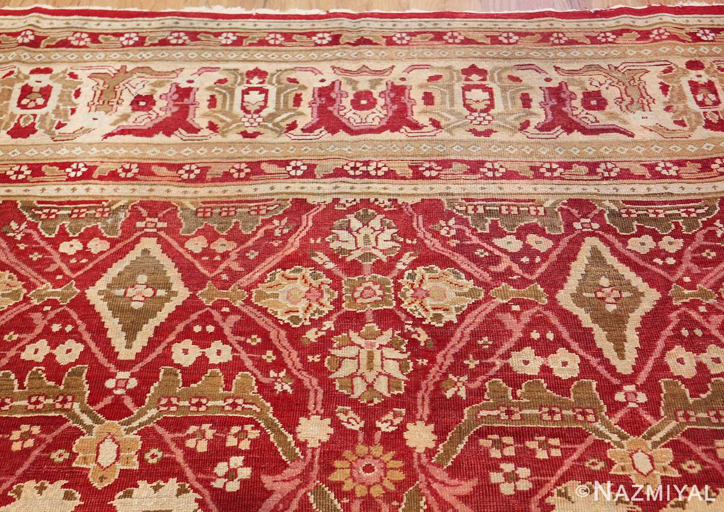antique room size indian amritsar rug 1891 top Nazmiyal