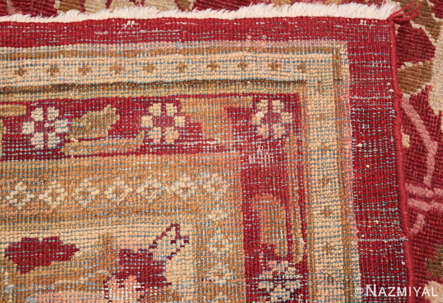 antique room size indian amritsar rug 1891 weave Nazmiyal