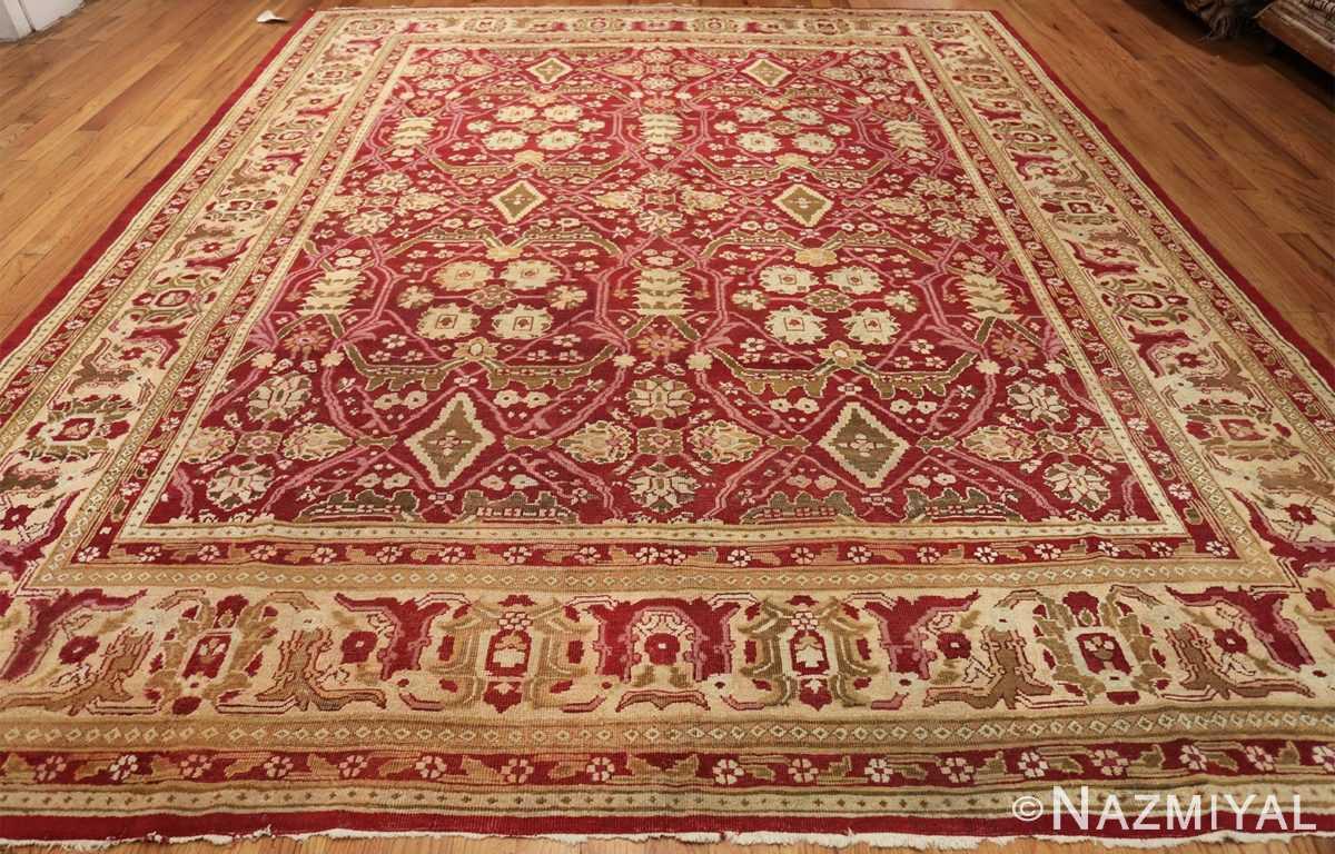 antique room size indian amritsar rug 1891 whole Nazmiyal