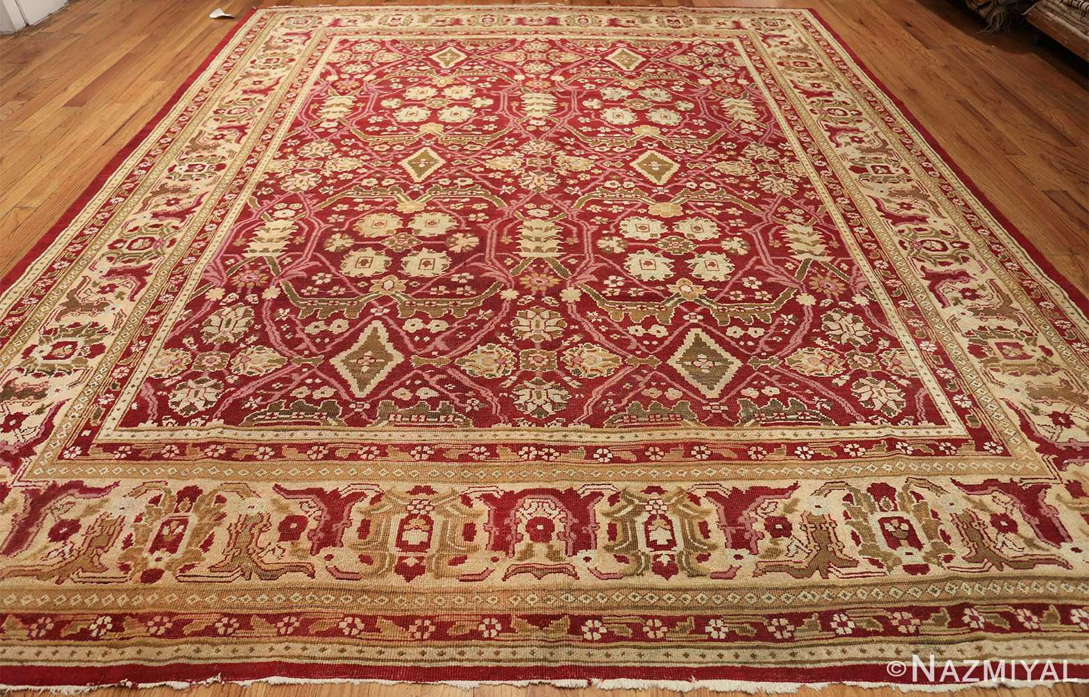 antique room size indian amritsar rug 1891 whole Nazmiyal
