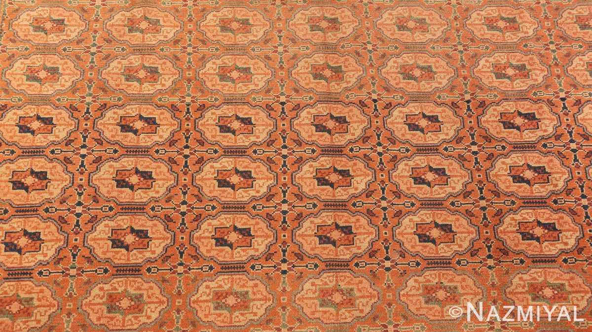 Background Antique Bezalel rug from Jerusalem Israel 41270 by Nazmiyal