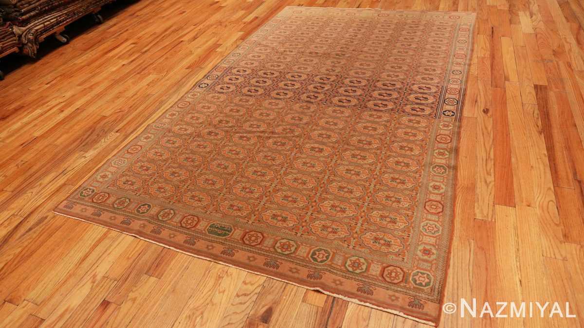 Full Antique Bezalel rug from Jerusalem Israel 41270 by Nazmiyal