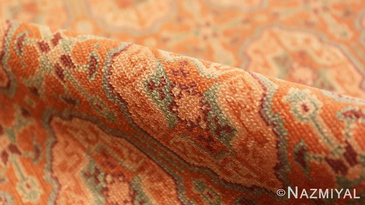 Pile Antique Bezalel rug from Jerusalem Israel 41270 by Nazmiyal