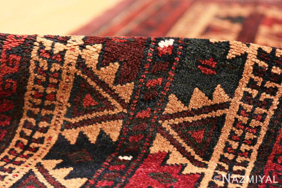 Pile Small scatter size Antique Persian Baluch rug 2529 by Nazmiyal