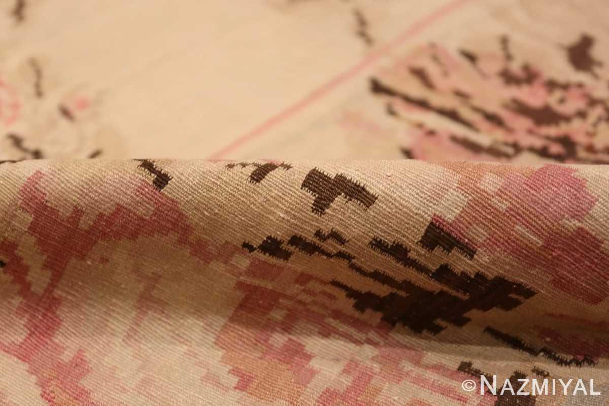 Pile square Antique Romanian Bessarabian Kilim rug 41272 by Nazmiyal