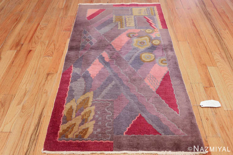 small geometric vintage chinese art deco rug 418 whole Nazmiyal