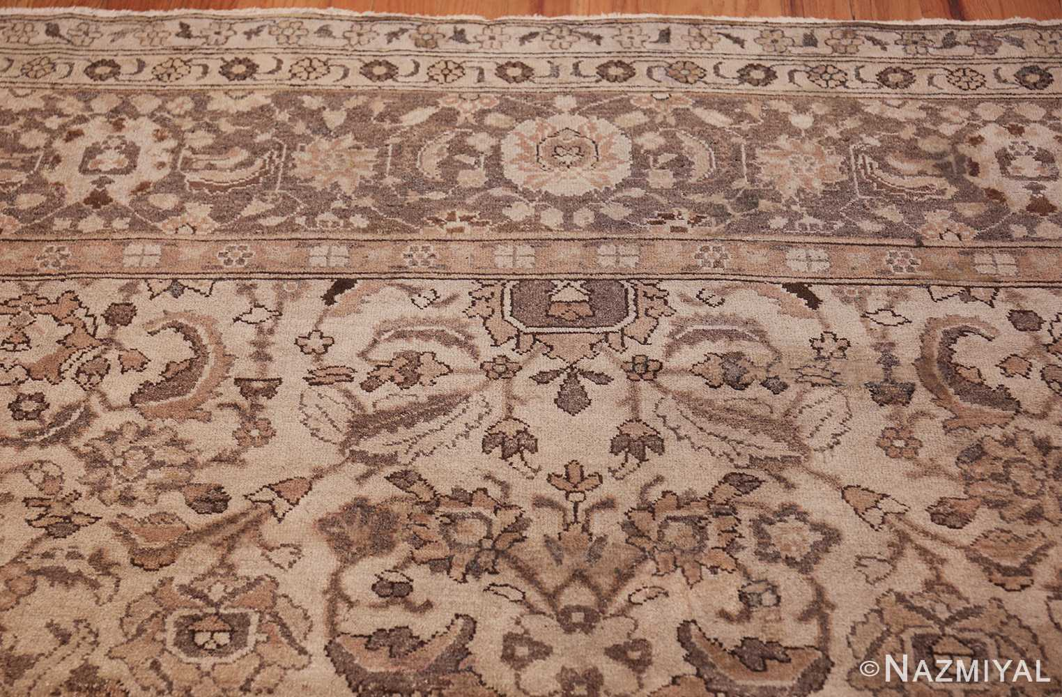 square size antique agra indian rug 41735 top Nazmiyal