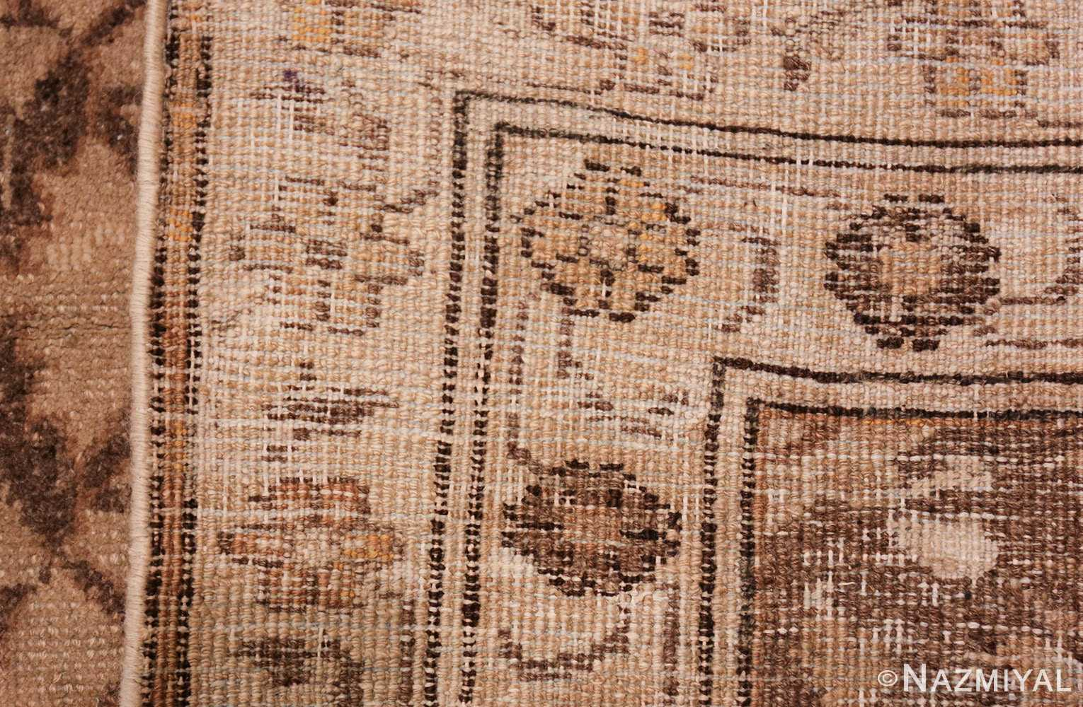 square size antique agra indian rug 41735 weave Nazmiyal