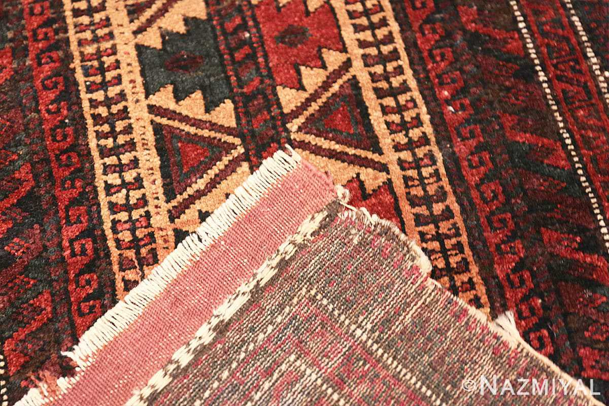 Weave Small scatter size Antique Persian Baluch rug 2529 by Nazmiyal
