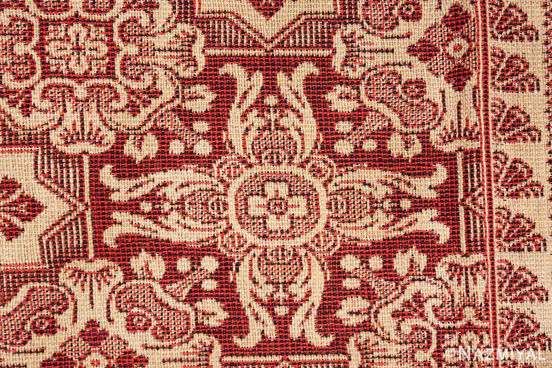 antique american flat woven ingrain rug 2755 star Nazmiyal