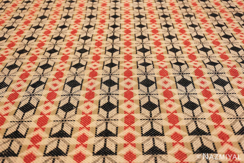 antique ingrain american rug 2628 lines Nazmiyal