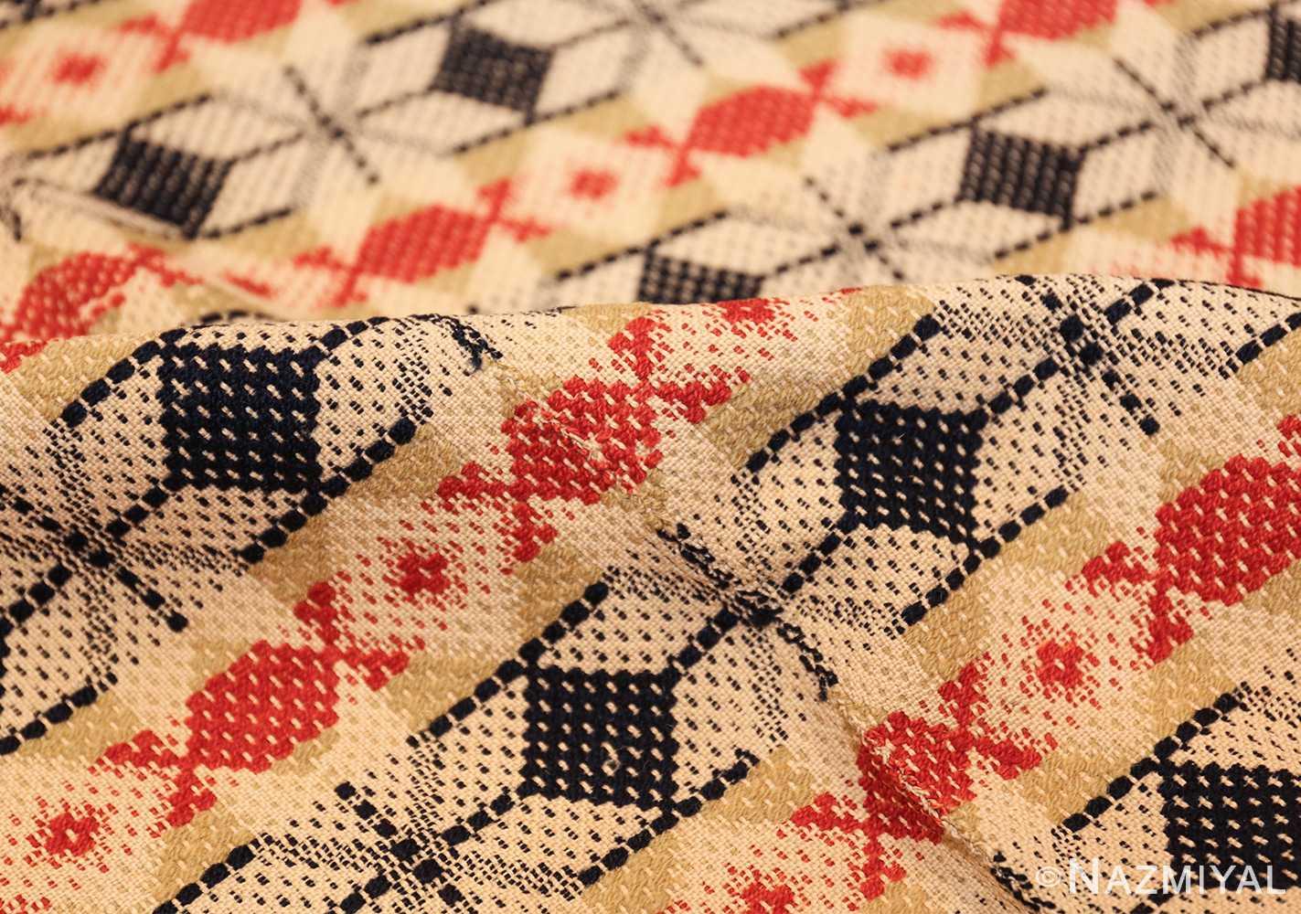 antique ingrain american rug 2628 pile Nazmiyal