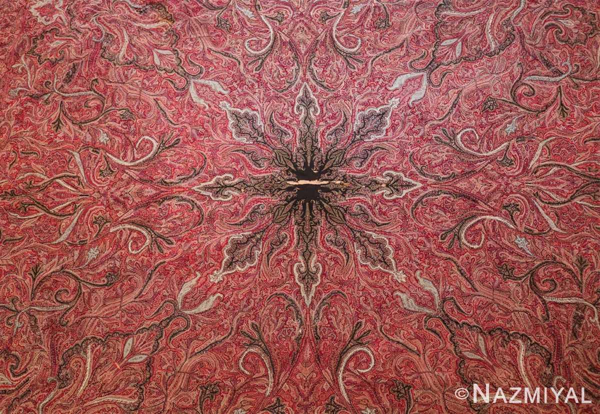beautiful antique indian shawl 41481 center Nazmiyal