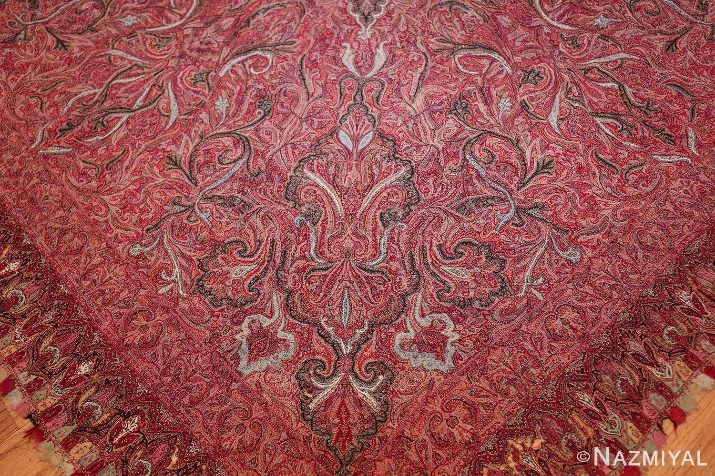 beautiful antique indian shawl 41481 corner Nazmiyal