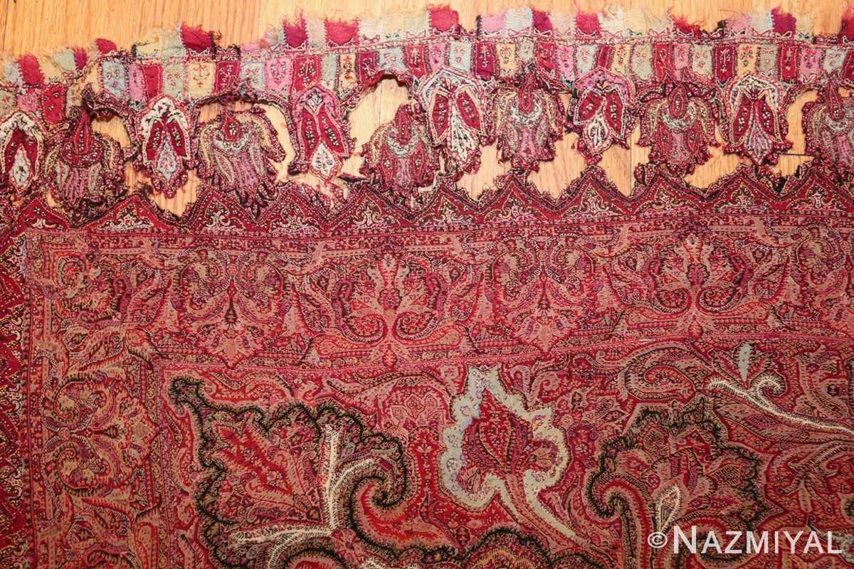 beautiful antique indian shawl 41481 detached Nazmiyal