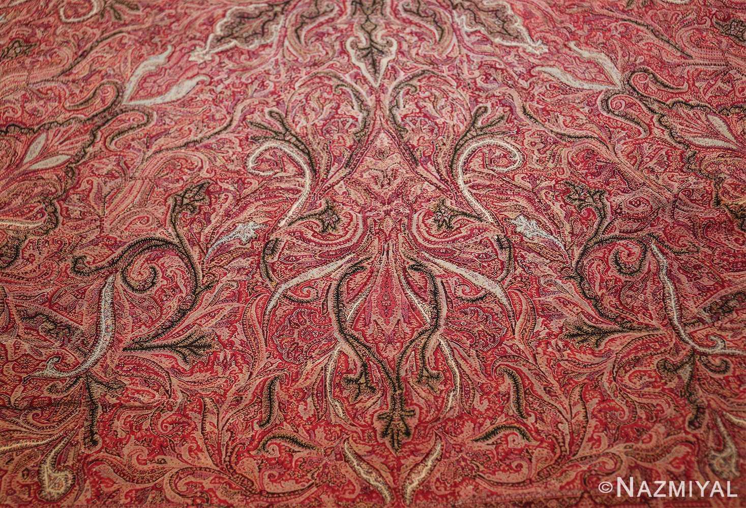 beautiful antique indian shawl 41481 field Nazmiyal