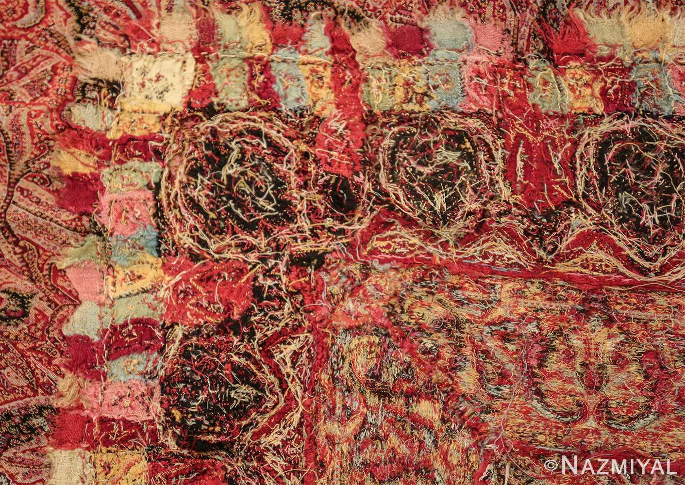 beautiful antique indian shawl 41481 knots Nazmiyal