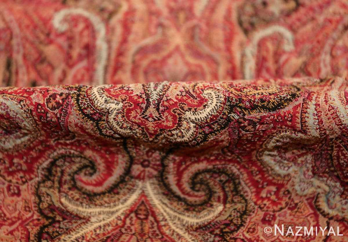 beautiful antique indian shawl 41481 pile Nazmiyal
