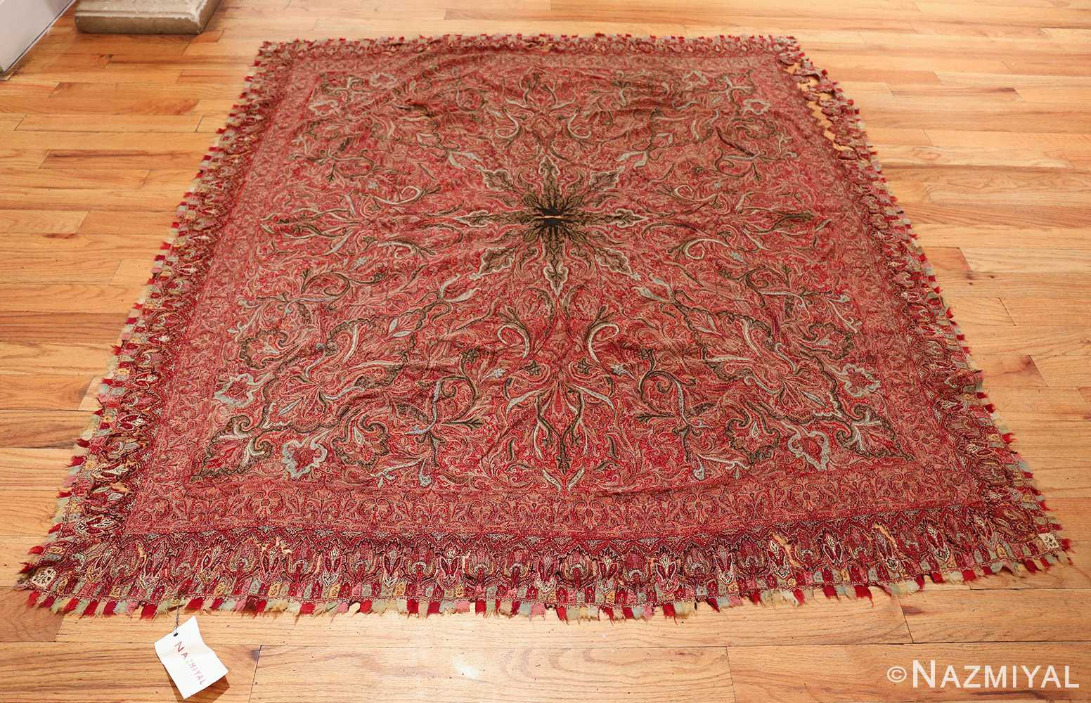 beautiful antique indian shawl 41481 whole Nazmiyal