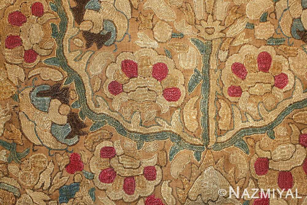 antique ottoman embroidery 41494 detail Nazmiyal
