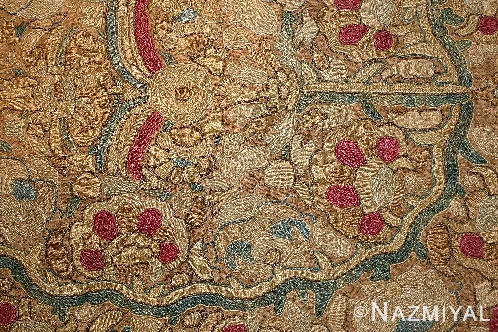 antique ottoman embroidery 41494 flowers Nazmiyal