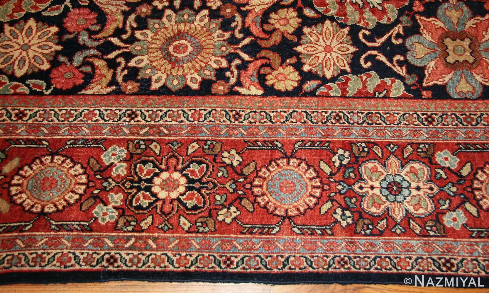 antique persian sultanabad rug 7997 border Nazmiyal