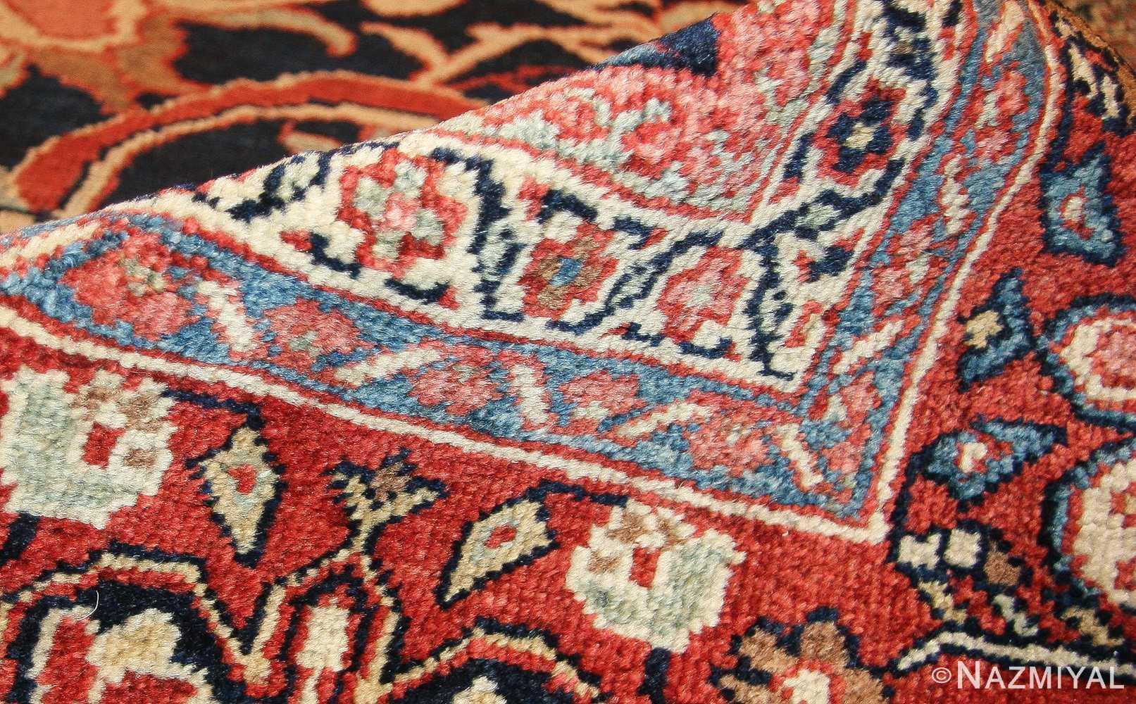 antique persian sultanabad rug 7997 pile Nazmiyal