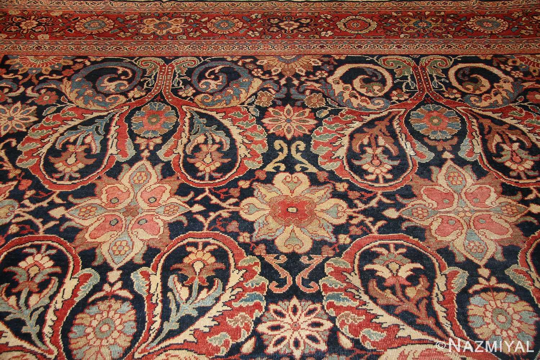 antique persian sultanabad rug 7997 top Nazmiyal