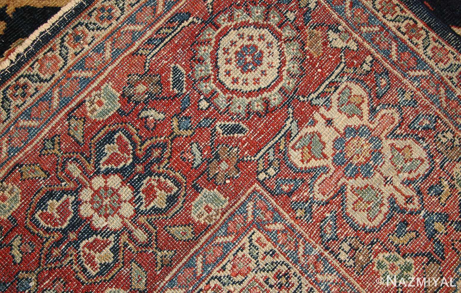 antique persian sultanabad rug 7997 weave Nazmiyal