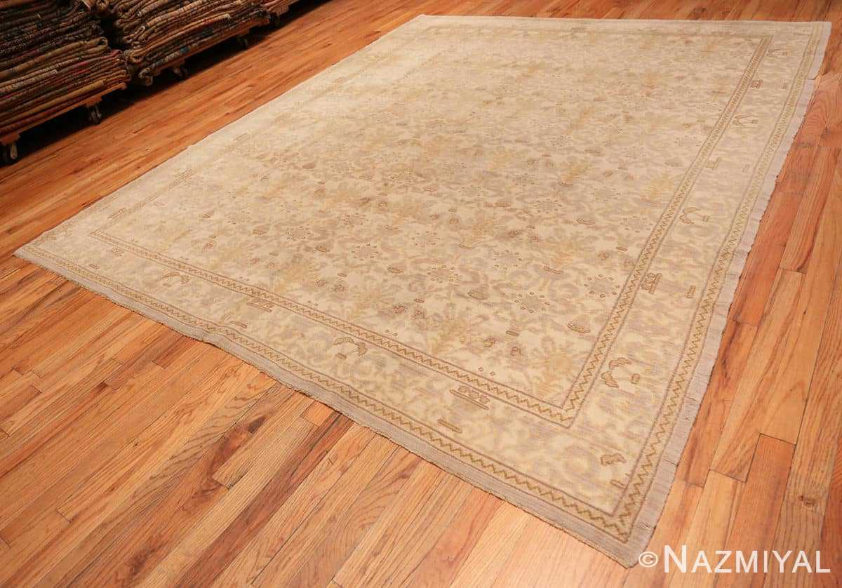 Full Decorative room size Antique Spanish carpet 2678 by Nazmiyal