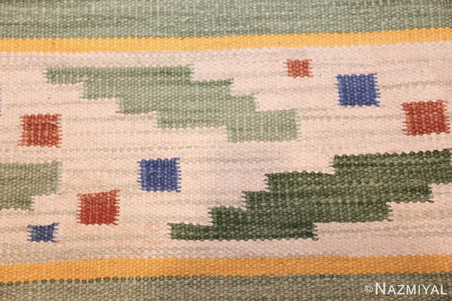 small vintage scandinavian swedish kilim rug 42018 design Nazmiyal