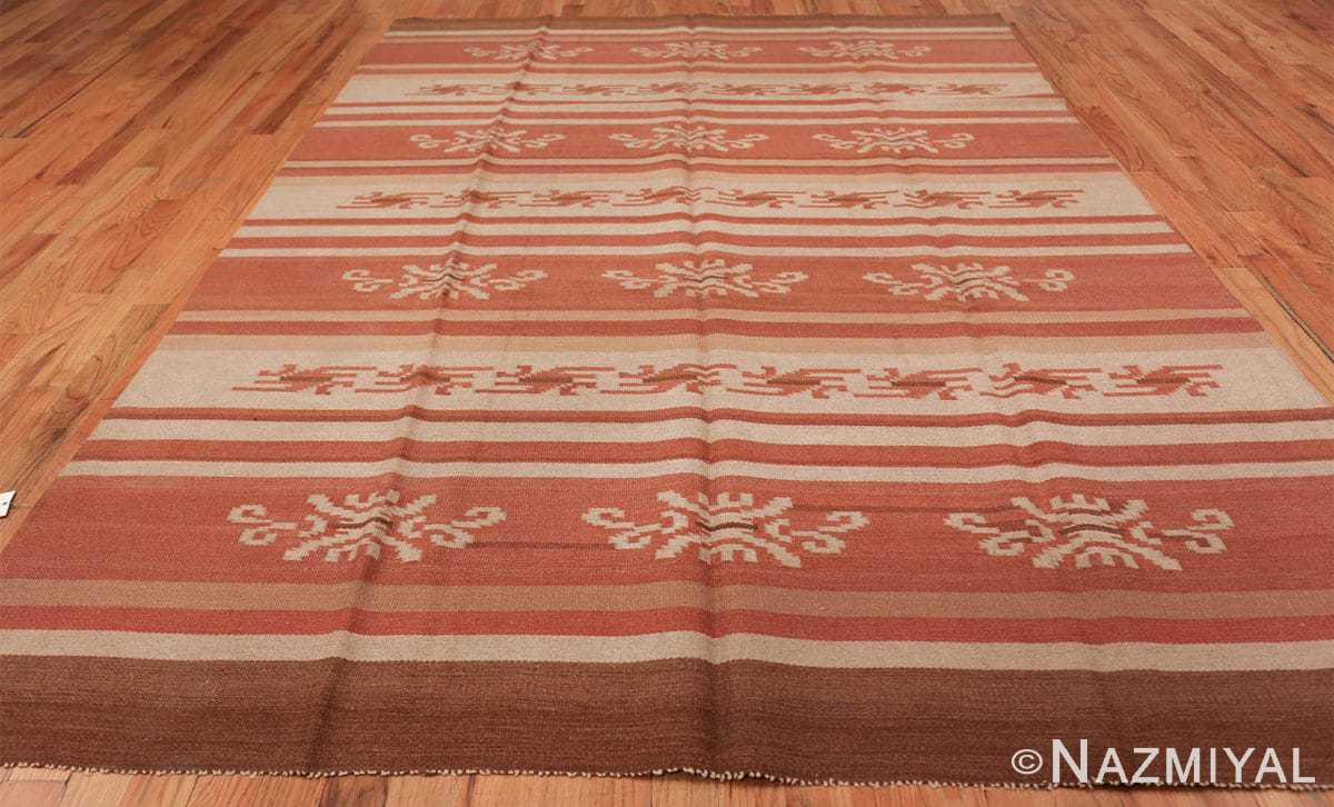 vintage scandinavian swedish kilim rug 3381 all Nazmiyal
