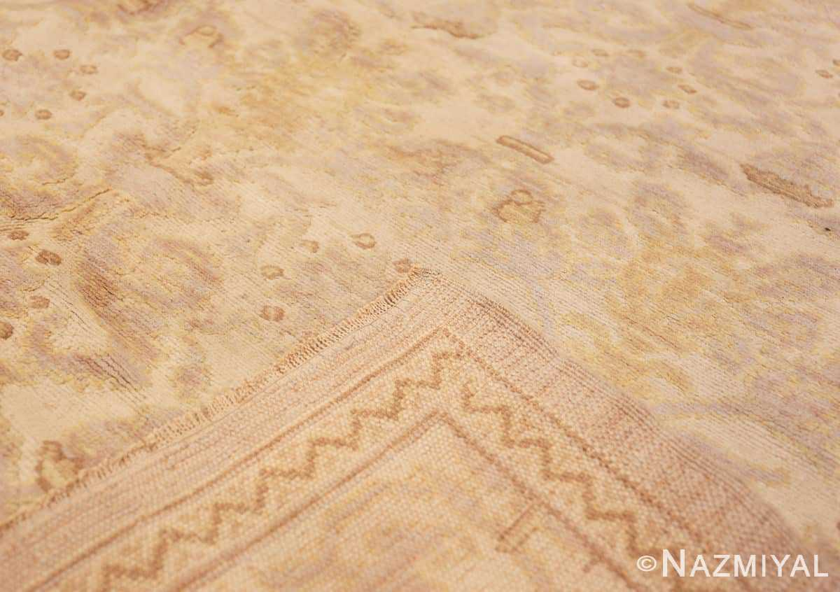 Weave Decorative room size Antique Spanish carpet 2678 by Nazmiyal