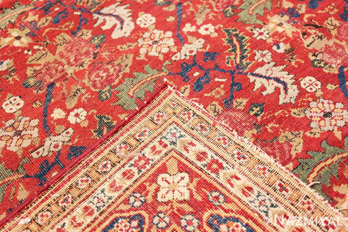 Weave Small Scatter Size Red Antique Persian Kerman rug 1150 by Nazmiyal