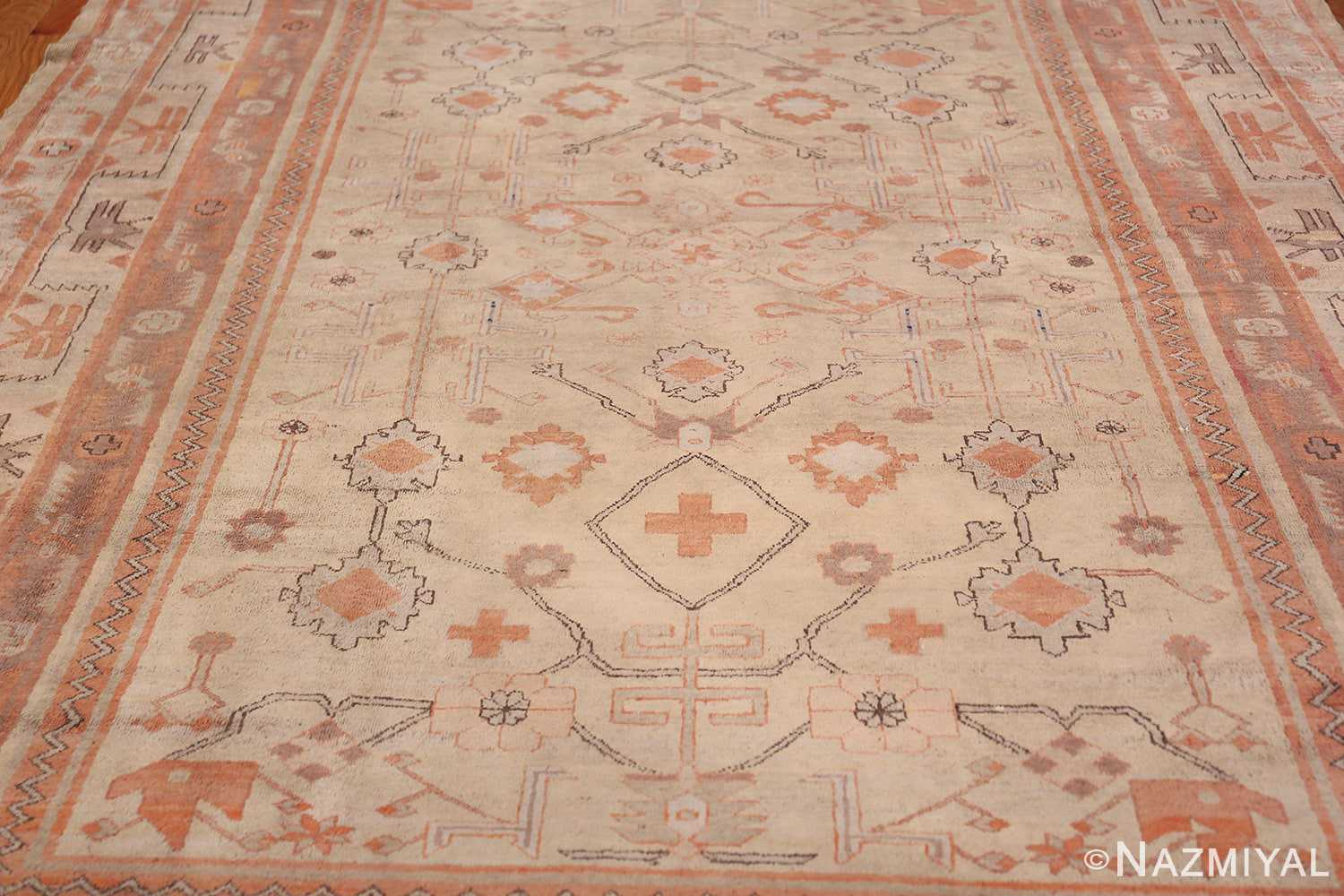 Antique Khotan Rug 40447 Field Design Nazmiyal