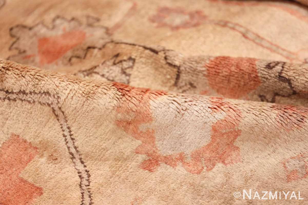 Antique Khotan Rug 40447 Ivory Pile Nazmiyal