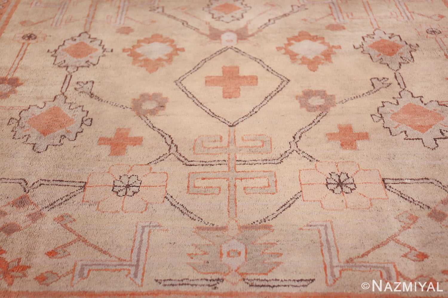 Antique Khotan Rug 40447 Lower Part Nazmiyal