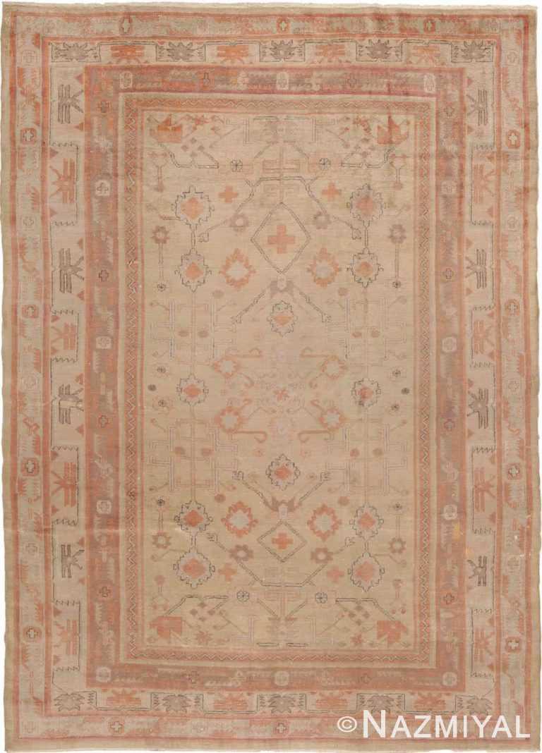 Antique Khotan Rug #40447 by Nazmiyal Antique Rugs