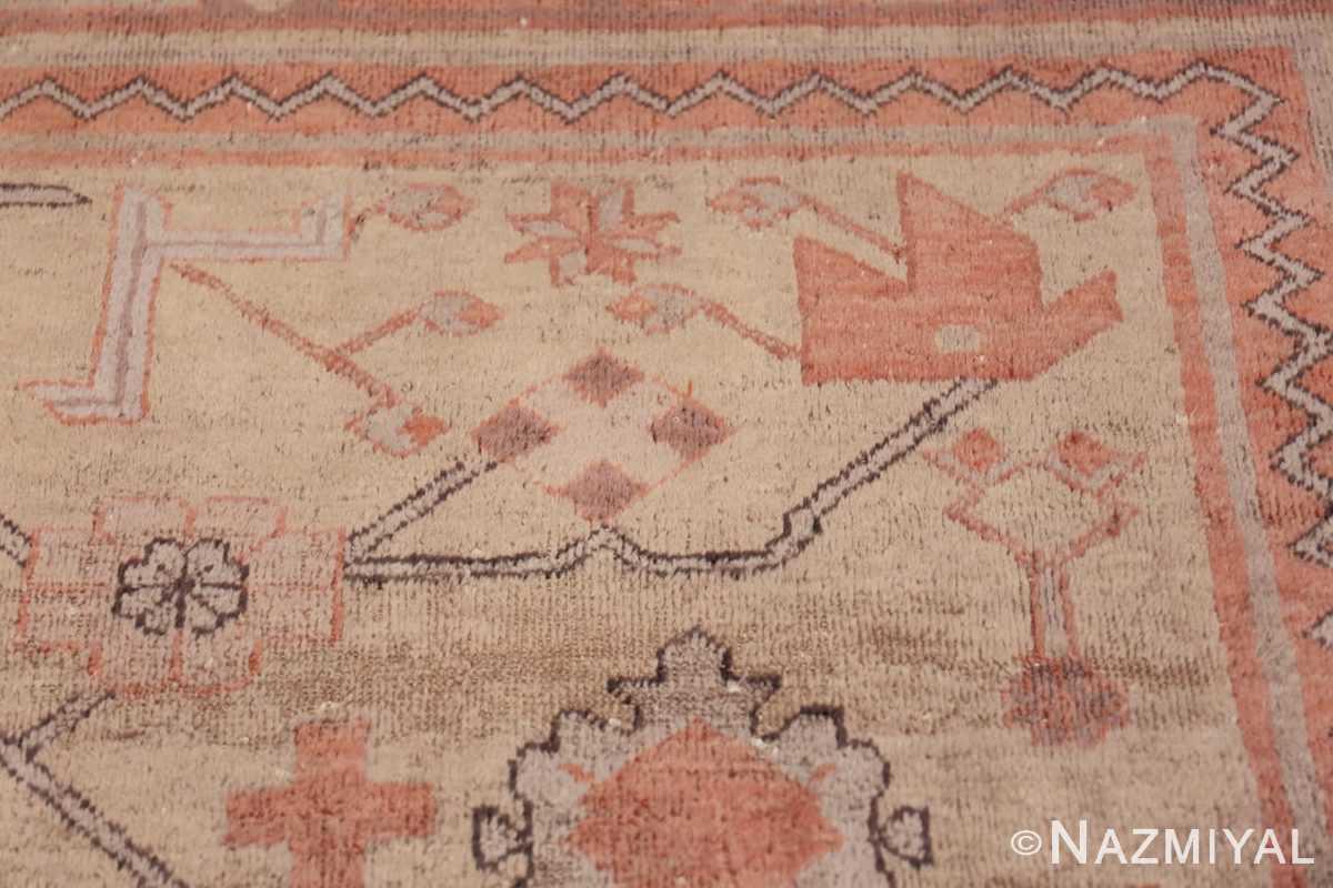 Antique Khotan Rug 40447 Shiny Yellow Nazmiyal