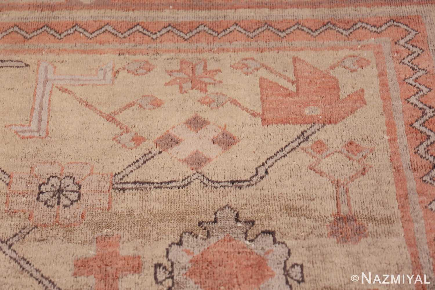 Antique Khotan Rug 40447 Shiny Yellow Nazmiyal