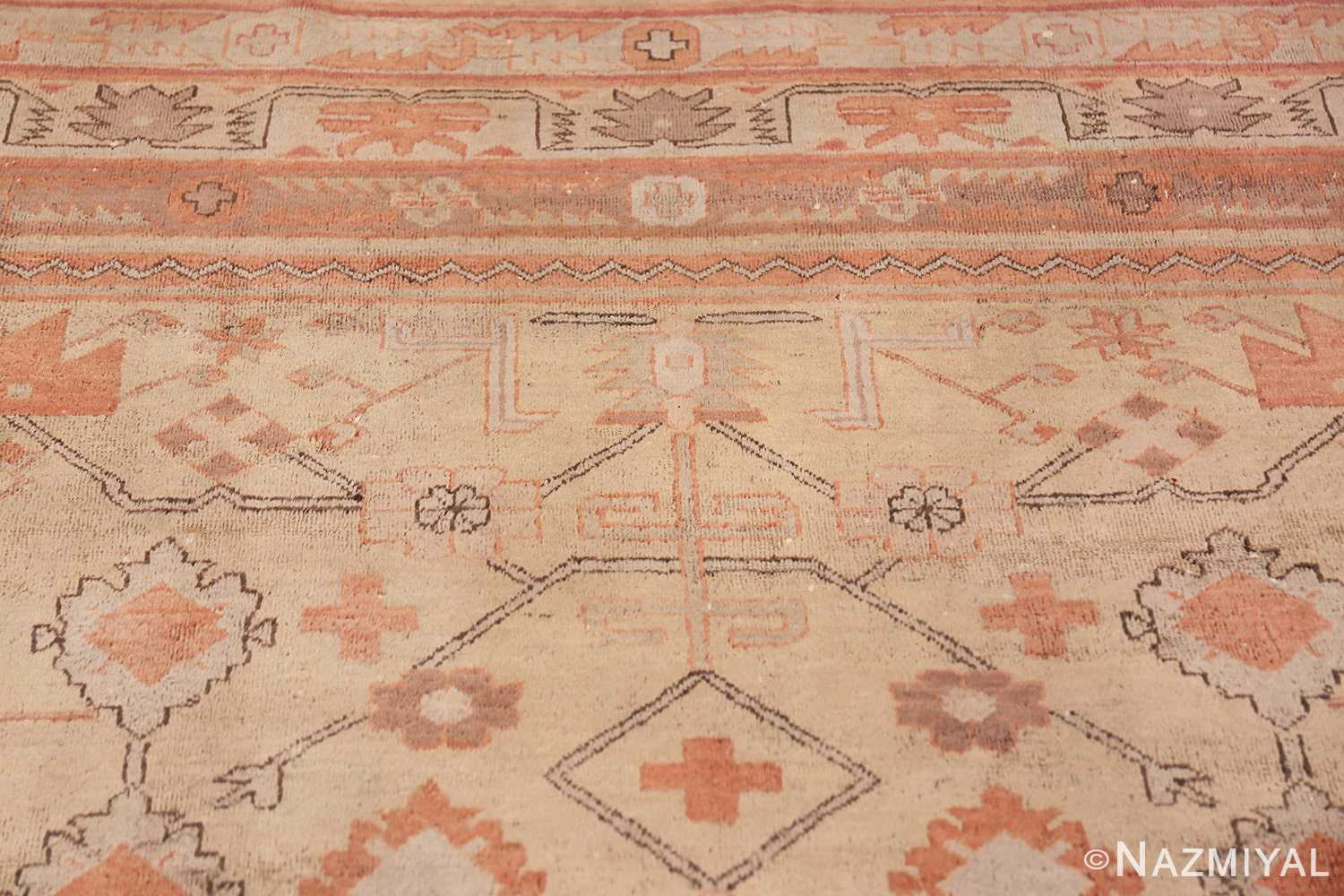 Antique Khotan Rug 40447 Upper Design Nazmiyal