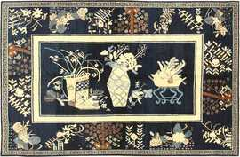 antique khotan rug 42447 Nazmiyal