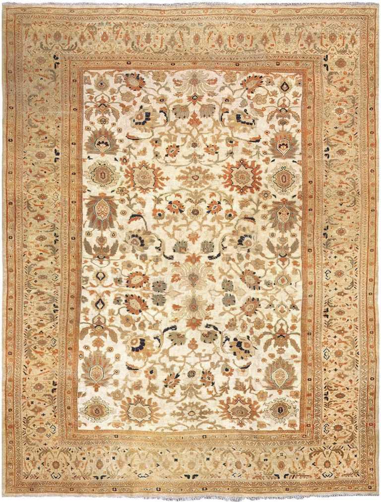 antique ziegler sultanabad rug from sigmund freud 3382 Nazmiyal