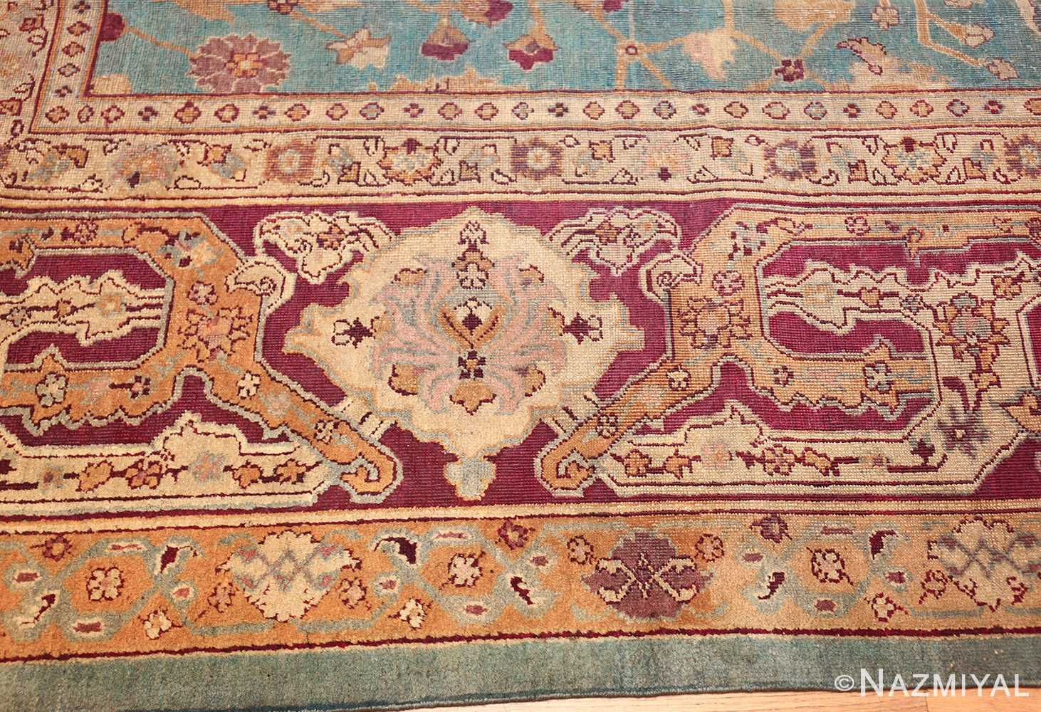 antique agra indian rug 41461 design Nazmiyal