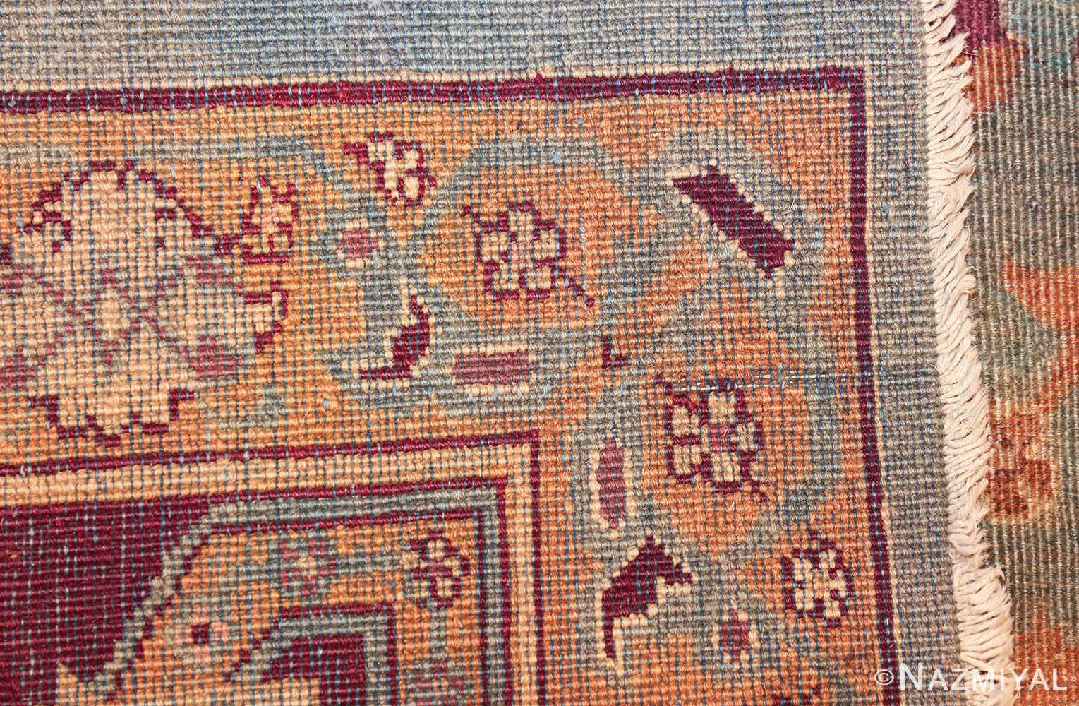 antique agra indian rug 41461 weave Nazmiyal