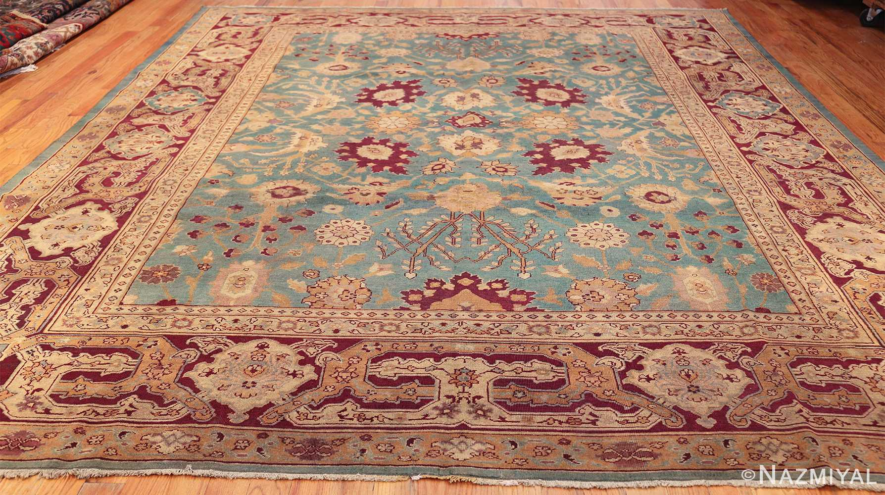 antique agra indian rug 41461 whole Nazmiyal