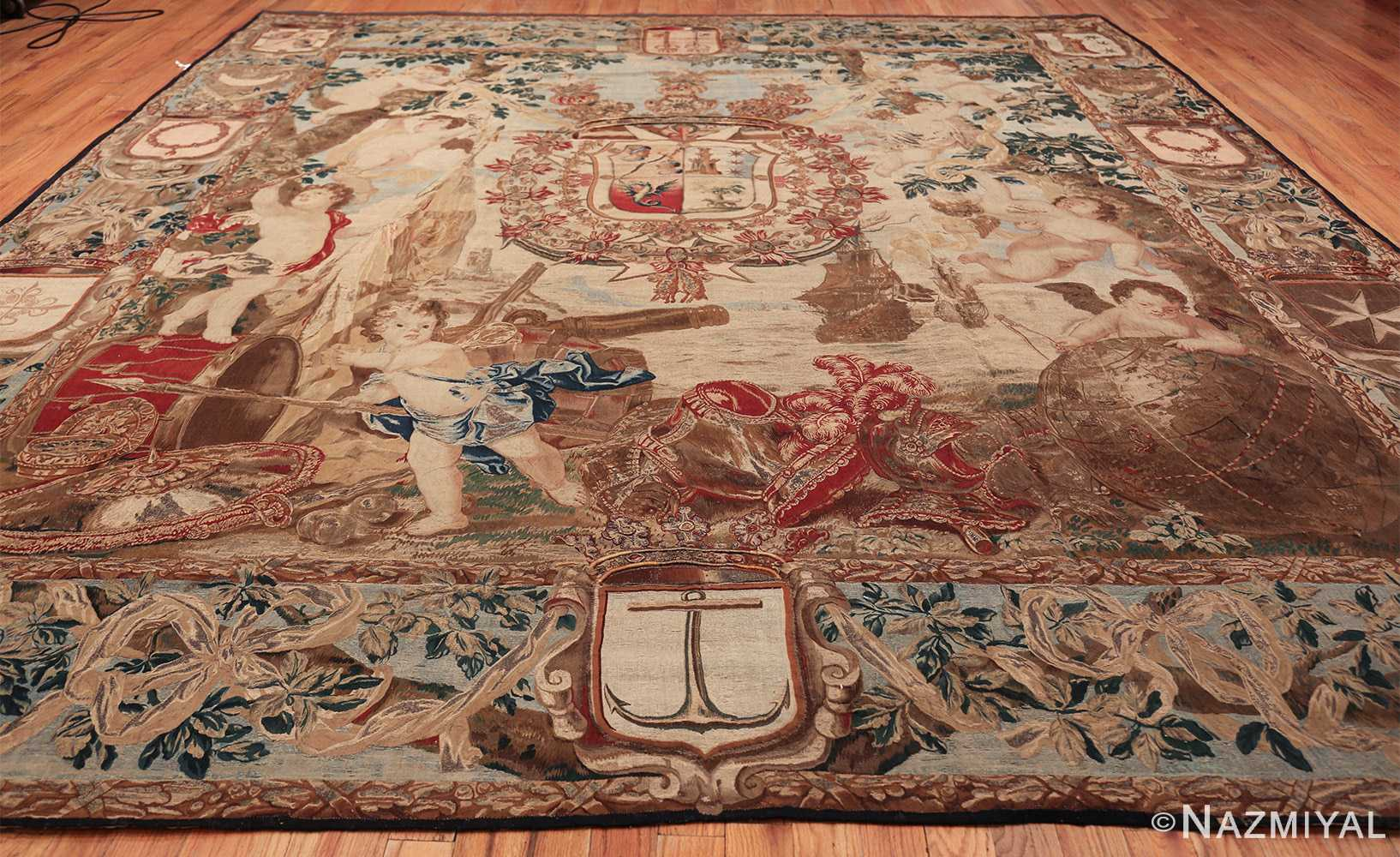 antique flemish heraldic tapestry of a spanish noble admiral 2399 whole Nazmiyal