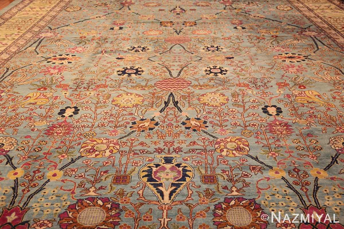 antique indian agra rug 40317 full Nazmiyal